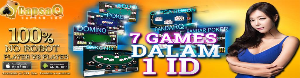 Agen Poker menyediahkan 5 permainan Poker Online Terlengkap Gratis-3